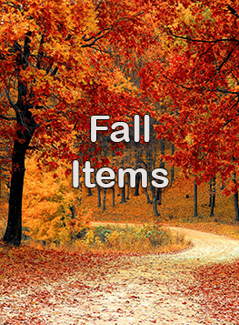 Fall Seasonal Items